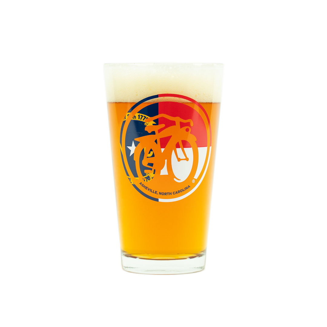 New Belgium Voodoo Ranger Pint Glass Beer Brewing 1