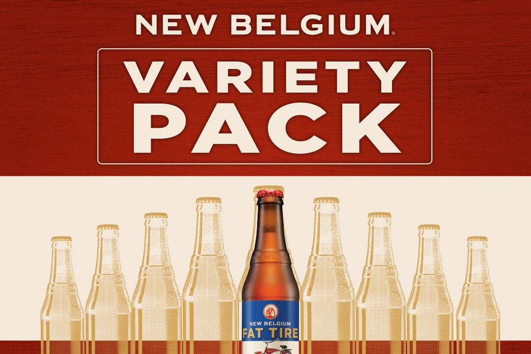 Bottle Folly Pack Variety Pack New Belgium Brewing