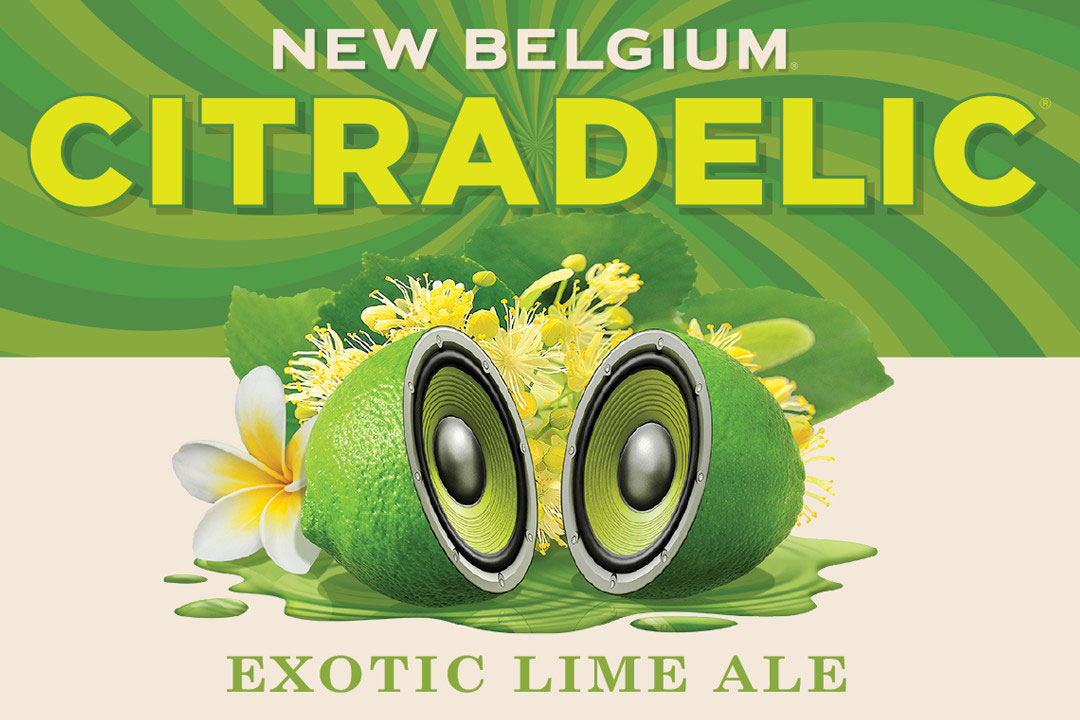 Citradelic Lime Exotic Lime Ale New Belgium Brewing