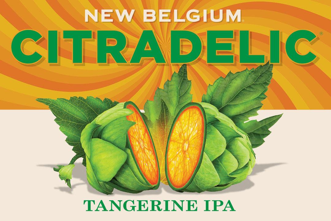 Citradelic Tangerine Ipa New Belgium Brewing
