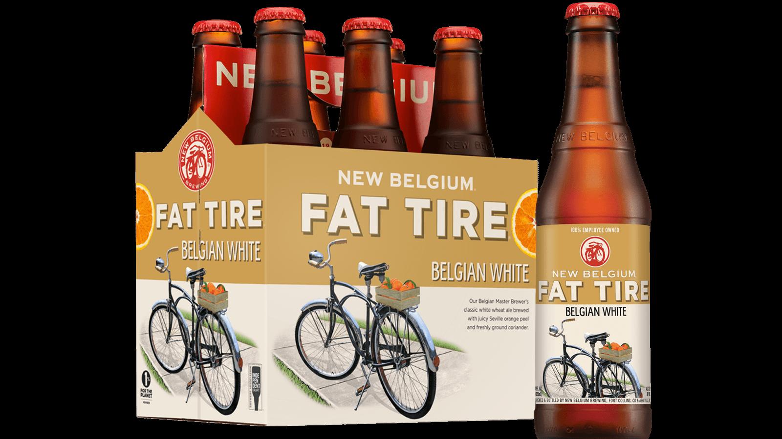 Fat Tire Belgian White Ale New Belgium Brewing