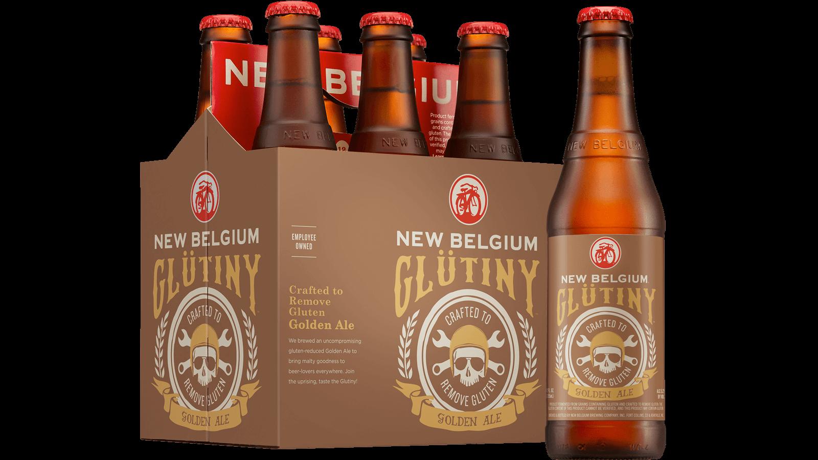 Glütiny Golden Ale Crafted to reduce gluten   New Belgium