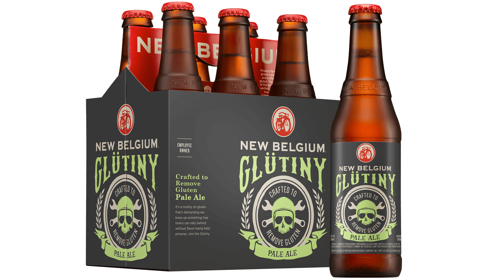 glütiny pale ale crafted to reduce gluten | new belgium brewing