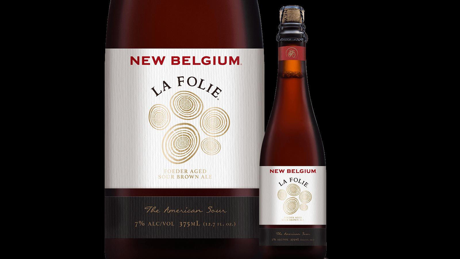 la folie sour brown ale new belgium brewing