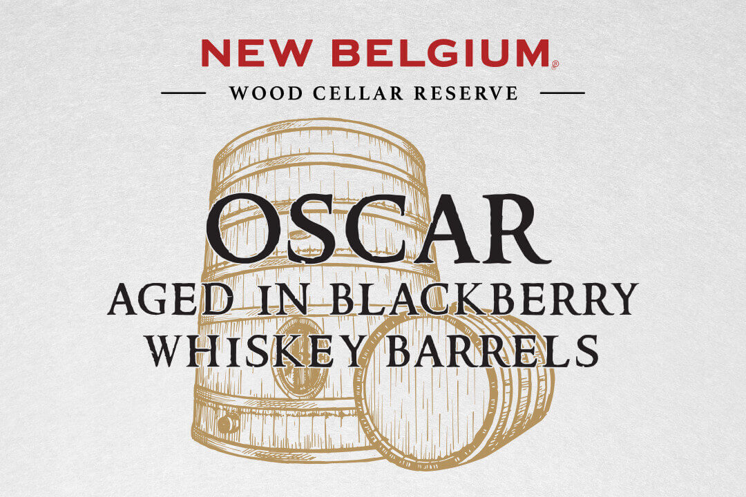 Oscar Aged in Blackberry Whiskey Barrels