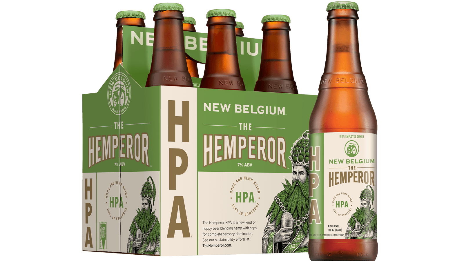 The Hemperor HPA | New Belgium Brewing