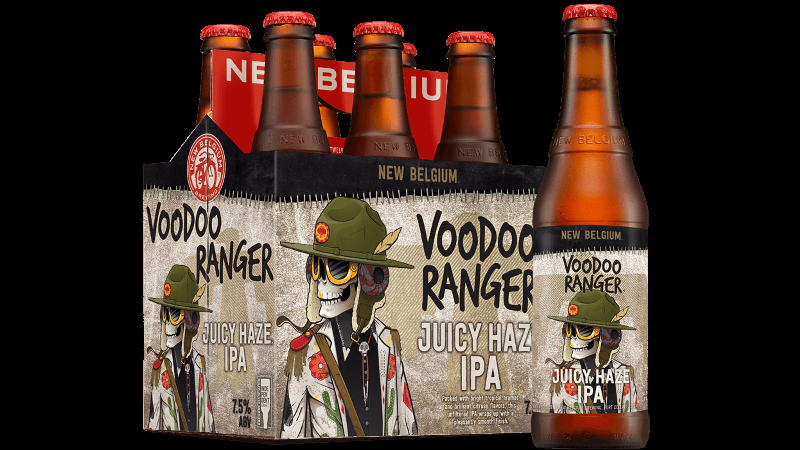 Voodoo Ranger Juicy Haze Ipa New Belgium Brewing