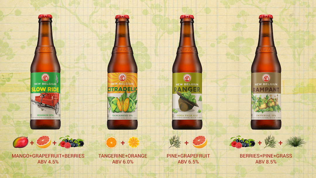 How Citradelic Fits In The New Belgium Ipa Family New Belgium Brewing